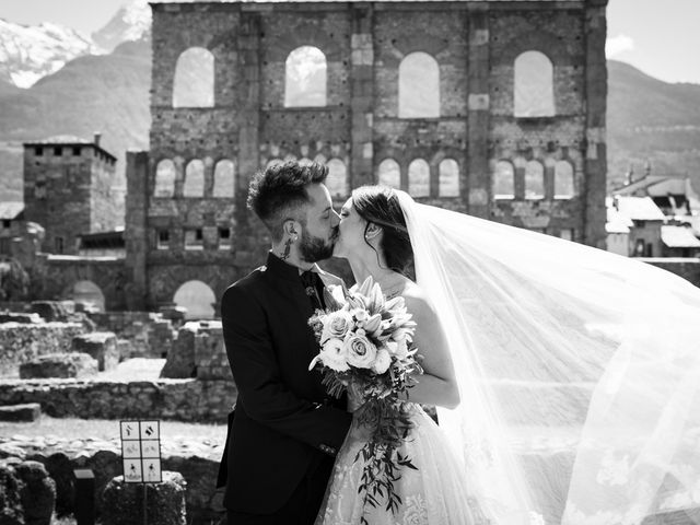 Il matrimonio di Daniele e Georgiana a Aosta, Aosta 3
