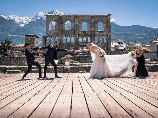 Il matrimonio di Daniele e Georgiana a Aosta, Aosta 4
