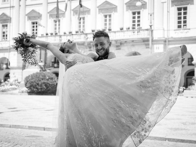 Il matrimonio di Daniele e Georgiana a Aosta, Aosta 28