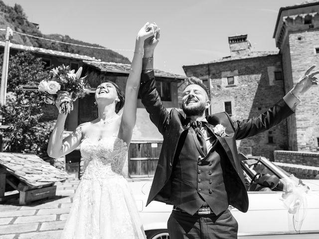 Il matrimonio di Daniele e Georgiana a Aosta, Aosta 33