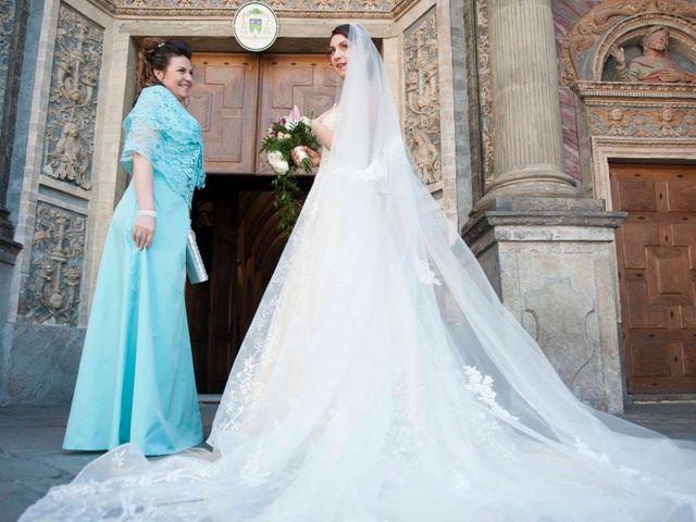 Il matrimonio di Daniele e Georgiana a Aosta, Aosta 57