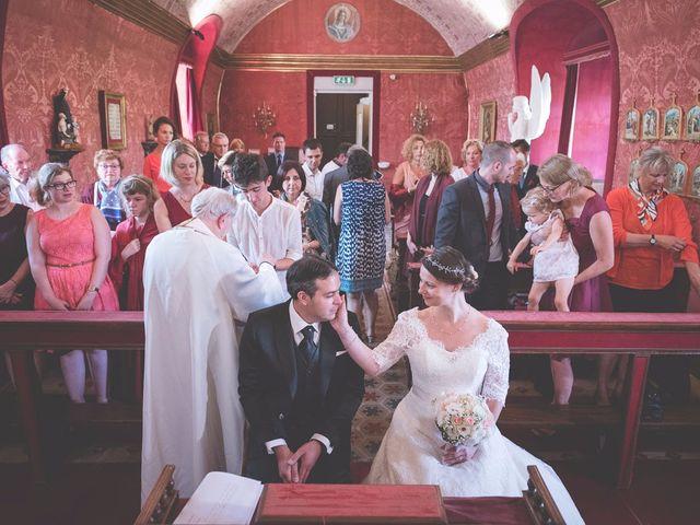 Il matrimonio di Allister e Florence a Compiano, Parma 46