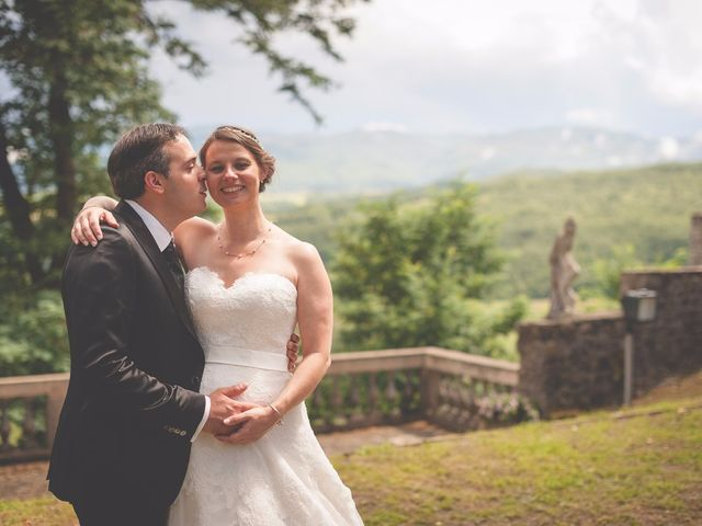 Il matrimonio di Allister e Florence a Compiano, Parma 59