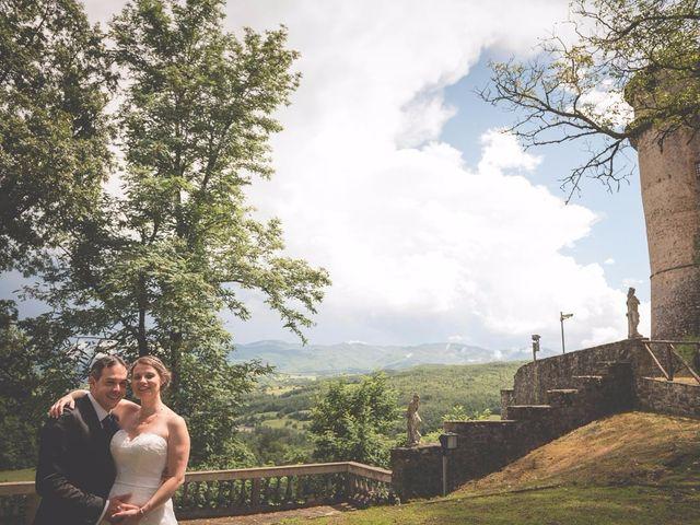Il matrimonio di Allister e Florence a Compiano, Parma 60
