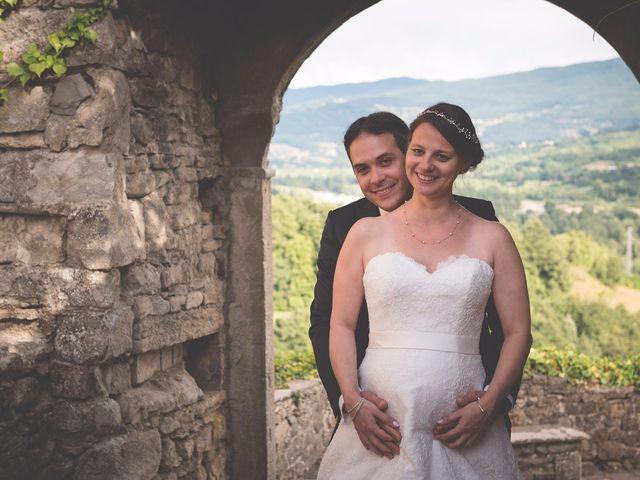 Il matrimonio di Allister e Florence a Compiano, Parma 77