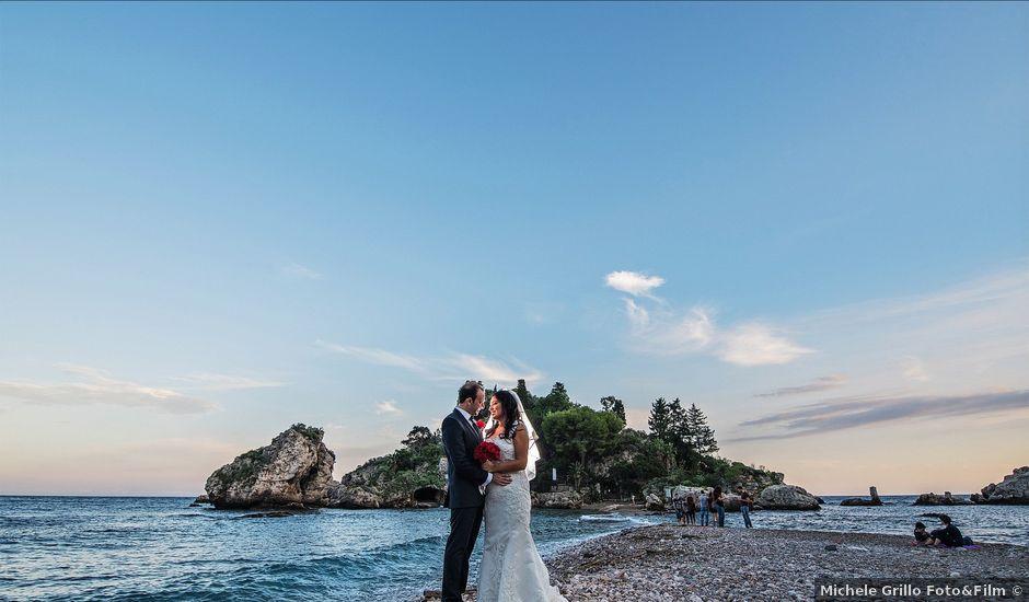 Il matrimonio di Alessandro e Jackie a Taormina, Messina