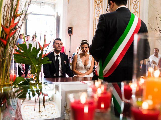 Il matrimonio di Matteo e Saida a Pavia, Pavia 39