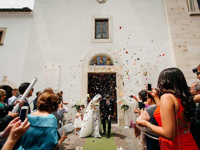 Il matrimonio di Fabrizio e Carmen a San Giovanni Rotondo, Foggia 19