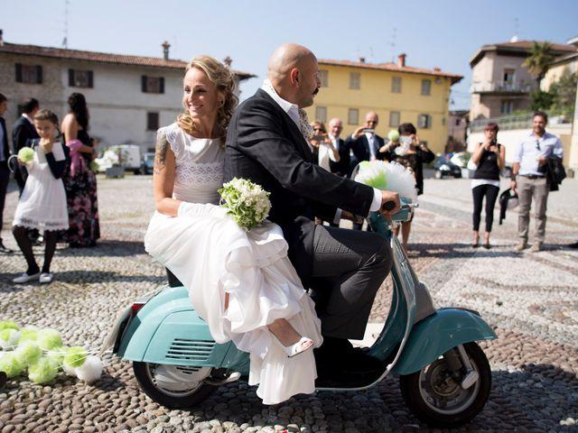 Il matrimonio di Simone e Alessandra a Sorisole, Bergamo 56