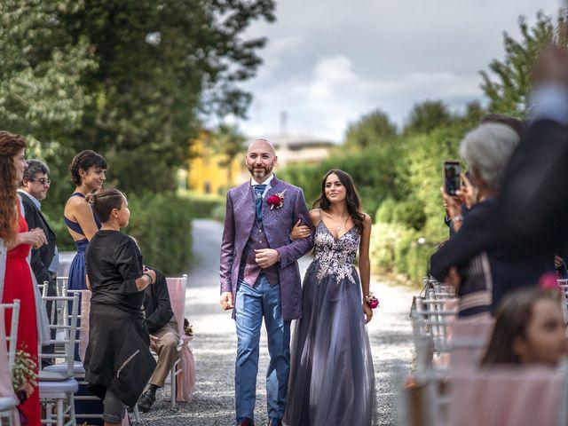 Il matrimonio di Andrea e Valentina a Filago, Bergamo 26