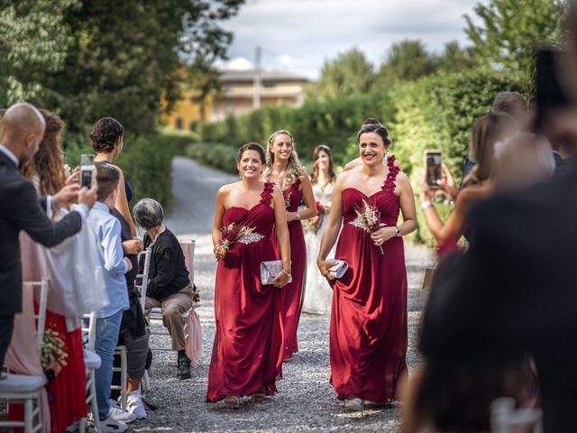 Il matrimonio di Andrea e Valentina a Filago, Bergamo 27