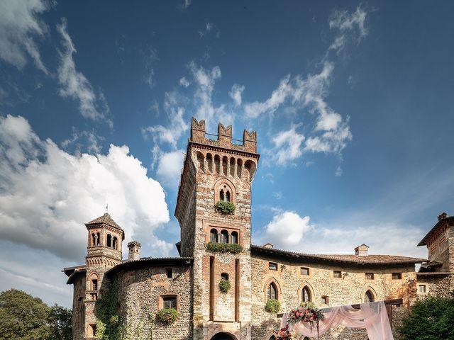 Il matrimonio di Andrea e Valentina a Filago, Bergamo 32