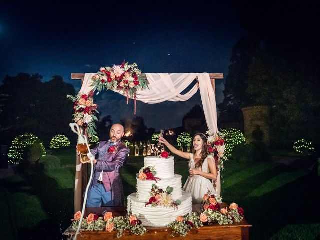 Il matrimonio di Andrea e Valentina a Filago, Bergamo 71