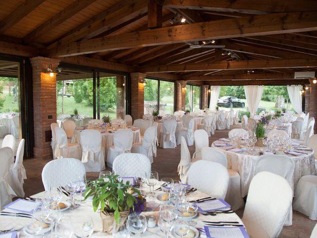 Il matrimonio di Davide e Francesca a Dozza, Bologna 9