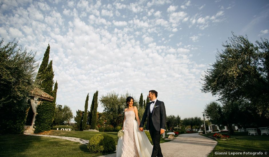 Il matrimonio di Fabrizio e Carmen a San Giovanni Rotondo, Foggia