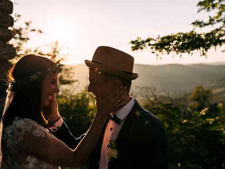 le nozze di Sabrina e Jakob