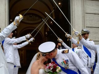 Le nozze di Letizia e Manfredi 1