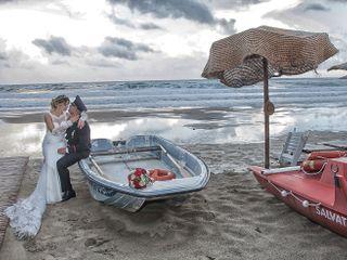 Le nozze di Letizia e Davide