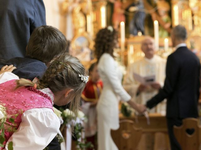 Il matrimonio di Giacomo e Ilaria a Badia-Abtei, Bolzano 9