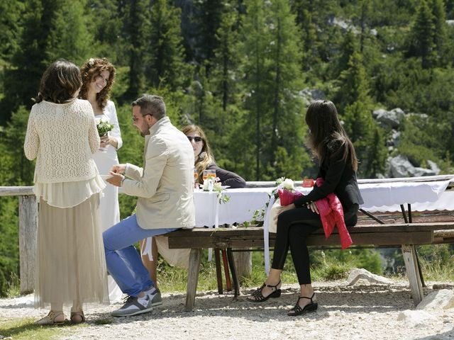 Il matrimonio di Giacomo e Ilaria a Badia-Abtei, Bolzano 12