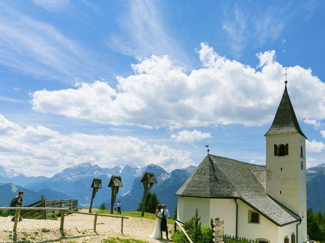 Il matrimonio di Giacomo e Ilaria a Badia-Abtei, Bolzano 14