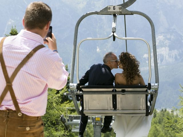 Il matrimonio di Giacomo e Ilaria a Badia-Abtei, Bolzano 16