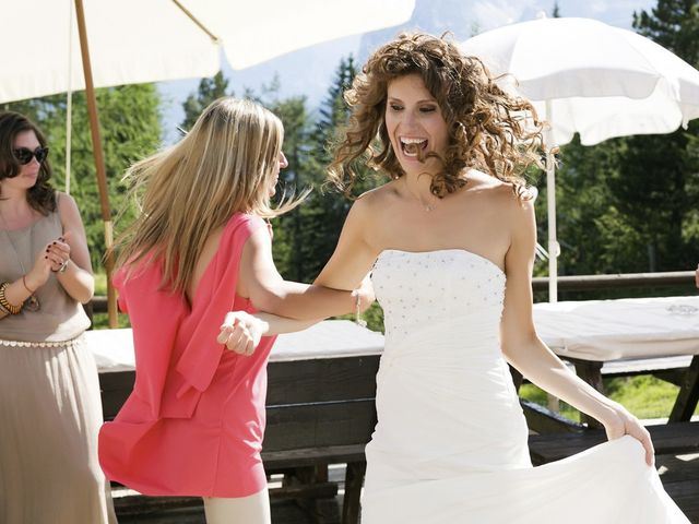 Il matrimonio di Giacomo e Ilaria a Badia-Abtei, Bolzano 22
