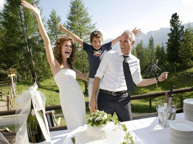 Il matrimonio di Giacomo e Ilaria a Badia-Abtei, Bolzano 25
