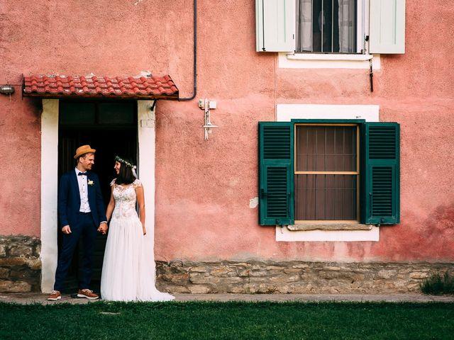Il matrimonio di Jakob e Sabrina a Denice, Alessandria 84