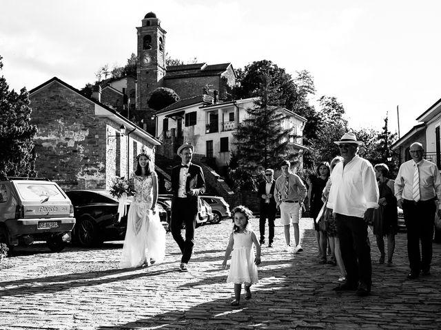 Il matrimonio di Jakob e Sabrina a Denice, Alessandria 86