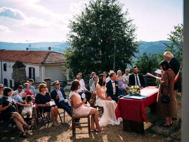 Il matrimonio di Jakob e Sabrina a Denice, Alessandria 96