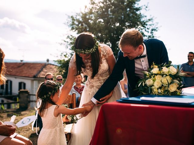 Il matrimonio di Jakob e Sabrina a Denice, Alessandria 99