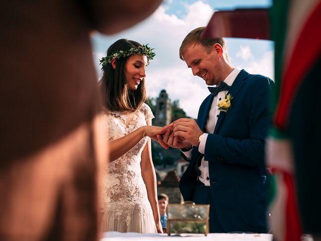 Il matrimonio di Jakob e Sabrina a Denice, Alessandria 100