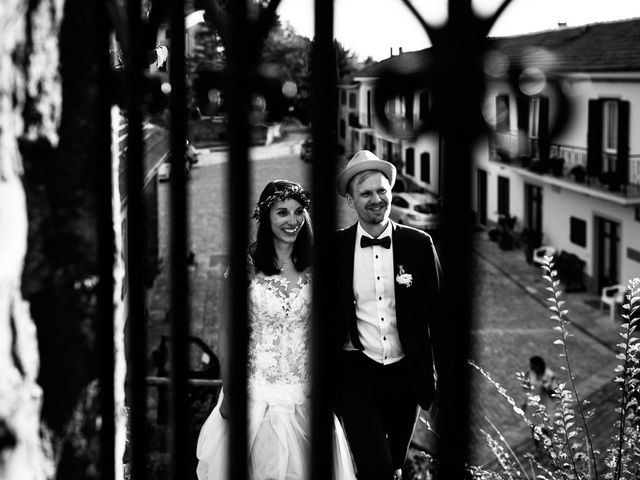 Il matrimonio di Jakob e Sabrina a Denice, Alessandria 125