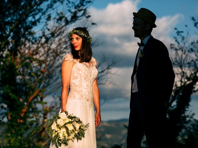 Il matrimonio di Jakob e Sabrina a Denice, Alessandria 1
