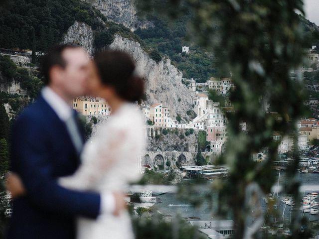 Il matrimonio di Jack e Erica a Amalfi, Salerno 23