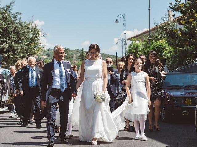 Il matrimonio di Fernando e Alessandra a Monte San Giovanni Campano, Frosinone 15