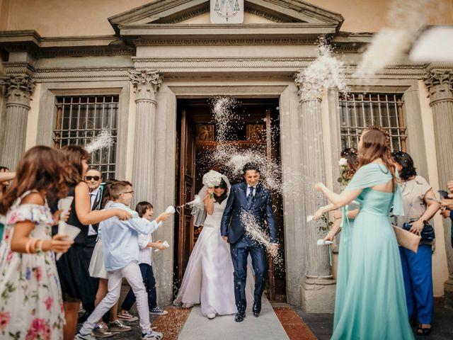 Il matrimonio di Davide e Michela a Stezzano, Bergamo 23