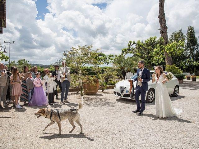 Il matrimonio di Danilo e Silvia a Frascati, Roma 69