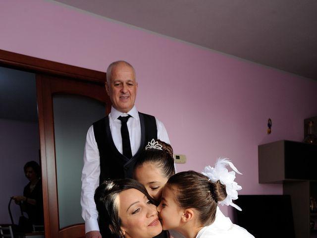 Il matrimonio di Laura e Checco a Lunamatrona, Cagliari 8
