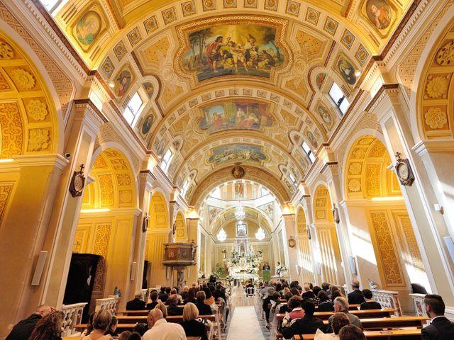 Il matrimonio di Laura e Checco a Lunamatrona, Cagliari 11