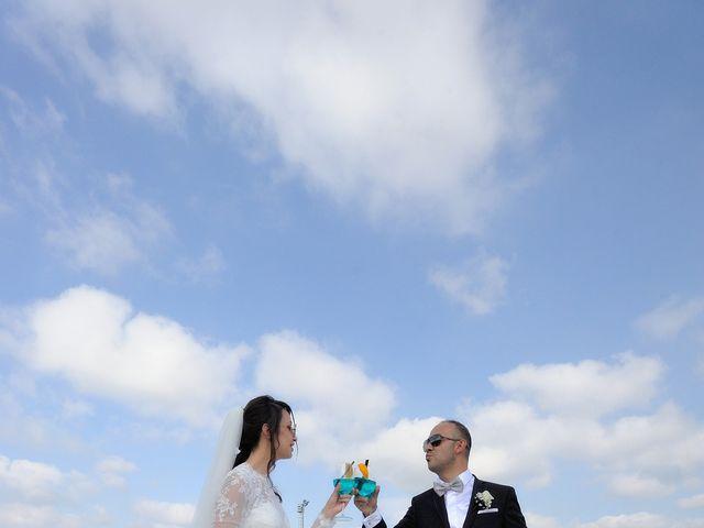 Il matrimonio di Laura e Checco a Lunamatrona, Cagliari 16