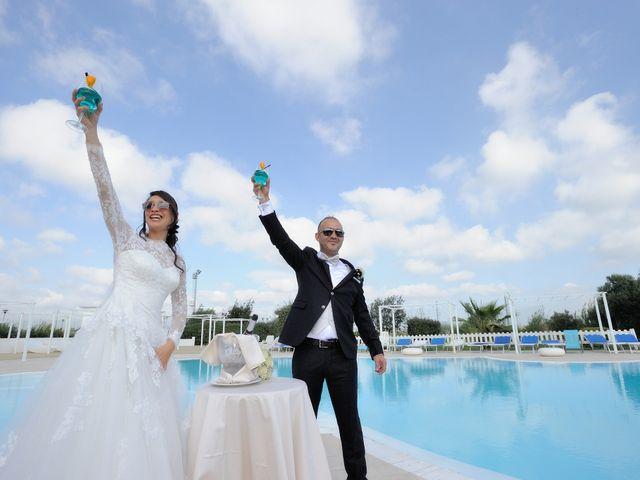 Il matrimonio di Laura e Checco a Lunamatrona, Cagliari 17