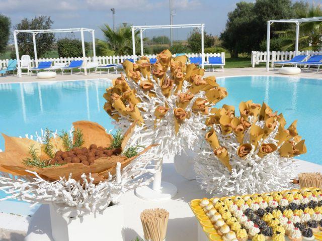 Il matrimonio di Laura e Checco a Lunamatrona, Cagliari 19