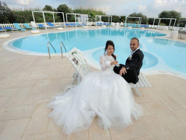 Il matrimonio di Laura e Checco a Lunamatrona, Cagliari 30
