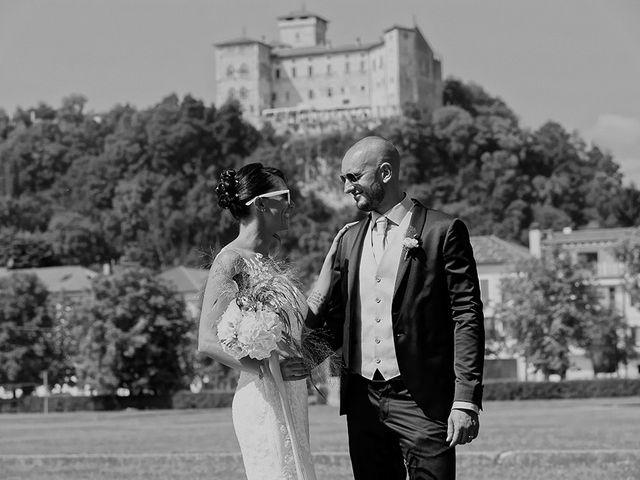 Il matrimonio di Jacopo e Nicky a Angera, Varese 15
