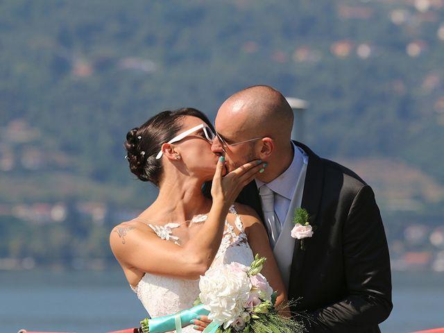 Il matrimonio di Jacopo e Nicky a Angera, Varese 22