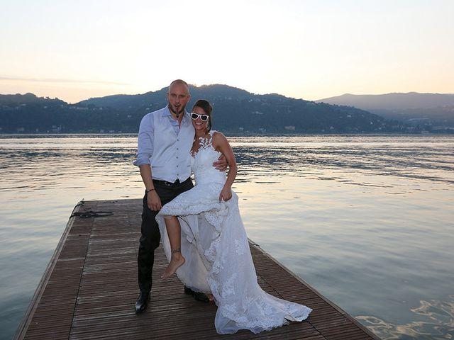 Il matrimonio di Jacopo e Nicky a Angera, Varese 25