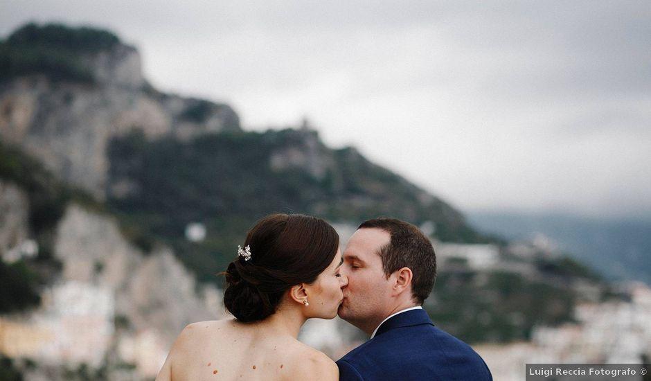 Il matrimonio di Jack e Erica a Amalfi, Salerno