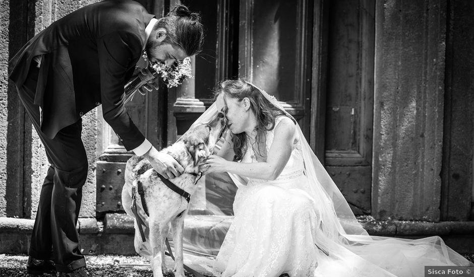 Il matrimonio di Danilo e Silvia a Frascati, Roma